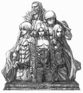 Illustration des principaux personnages de Chonchu